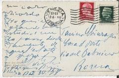 Autograph Postcard Signed by Filippo de Pisis  - 1953