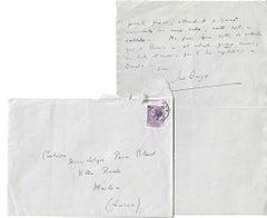 Correspondence by Iris Origo - 1957