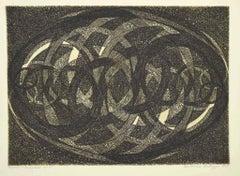 Composition - Original Lithograph by Antonino Virduzzo - 1959