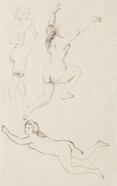 Nude - Original Ink on Paper - 1930s