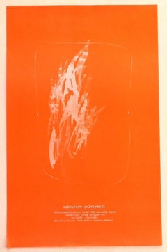 Salvatore Pulvirenti - Exhibition Poster - Original Offset Print - 1974