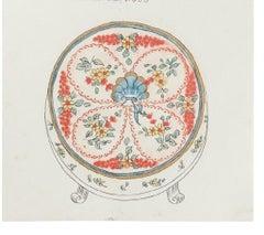 The Carillon - Original China Ink and Watercolor - 1880s