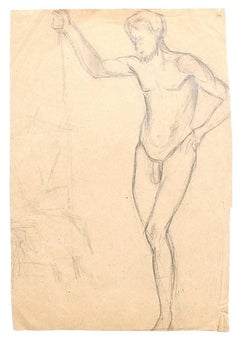 Studies for Figures - Original Drawing on Paper - 1920s