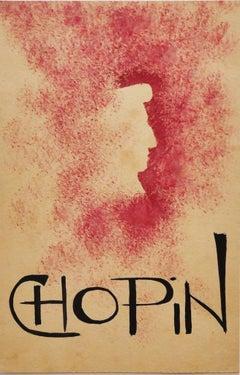 Chopin - Original Mixed Media - Early 20th Century