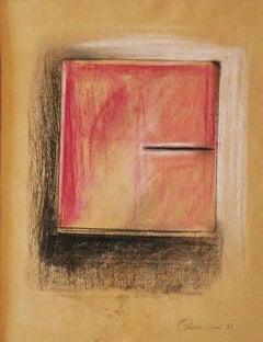 Notebook - Original Pastel and Pencil by Claudio Palmieri - 1989
