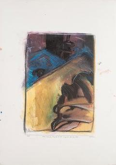 Movement - Original Mixed Media by Sergio Barletta - 1994