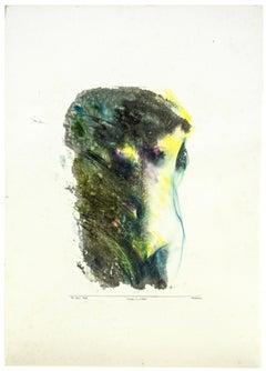 Nude - Original Mixed Media by Sergio Barletta - 1994