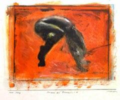 Passage - Original Mixed Media by Sergio Barletta - 1994