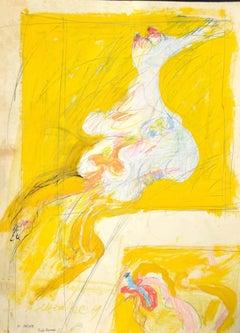 Alteration - Original Mixed Media by Sergio Barletta - 1980s