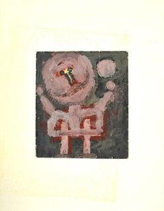 Figure - Original Mixed Media by Sergio Barletta - 1960s