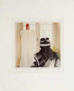 Evident Mystery - Original Collage by Sergio Barletta - 1982