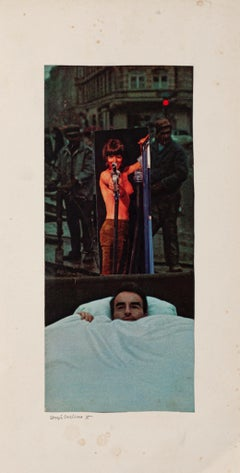 Dreaming - Original Collage by Sergio Barletta - 1975