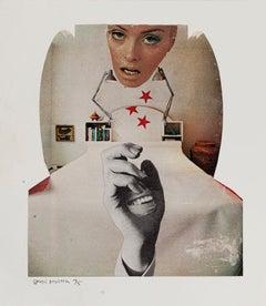Laughter - Original Collage by Sergio Barletta - 1975