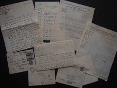 Correspondence Signed by Nicolas Nabokov - 1953