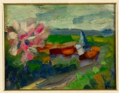 Landscape - Oil on Panel - Early 20th Century