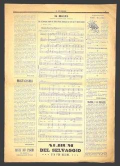 Il Selvaggio no.1 by Mino Maccari - 1930s