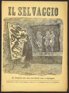 Il Selvaggio no.21/22 by Mino Maccari - 1924