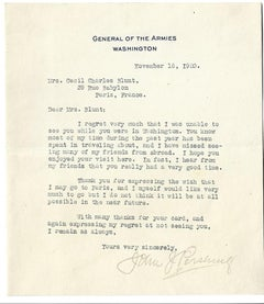 Confidential Letter by the General of the Armies - 1920