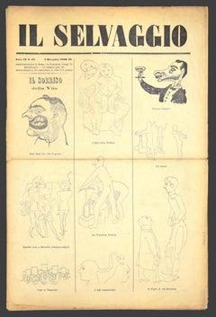Il Selvaggio no. 10 by Mino Maccari - 1932