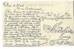 Autograph Postcard Signed by Louis Marcoussis - 1930s