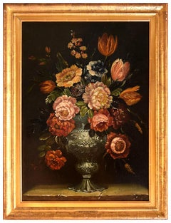 Still Life - Oil Painting after Michel Nicolas Micheux - Early 20th Century