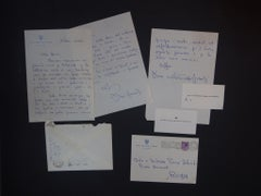 Gloria ai Pecci Blunt! - 2 Autograph Letters Signed by Dino Grandi - 1957/1958