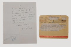 Autograph and Telegrams by Mario Soldati - 1943/1953