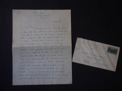 Autograph Letters Signed by Vittorio Rieti - 1947