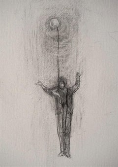 Upon Returning - Original Pencil on Paper by Andrea Fogli - 2007