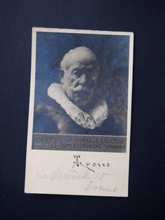 Vintage Postcard by Giacomo Grosso - Early 20th Century