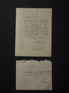 Autograph Letter Signed by Alberto Savinio - 1934 c.a.