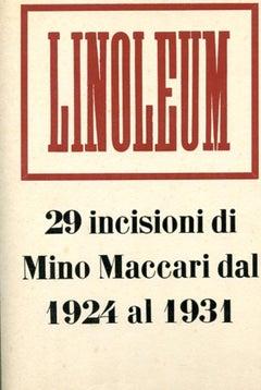 Linoleum - Rare Illustrated Book by Mino Maccari - 1931