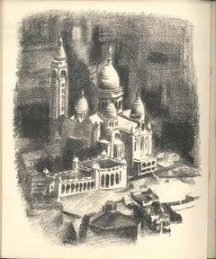 Allo! Paris! - Rare Book Illustrated by Robert Delaunay - 1926