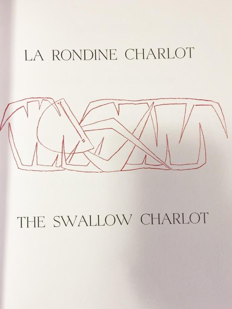 The Swallow Charlot - Rare Book by Roberto Crippa, Raffaele Carrieri - 1957 For Sale 1