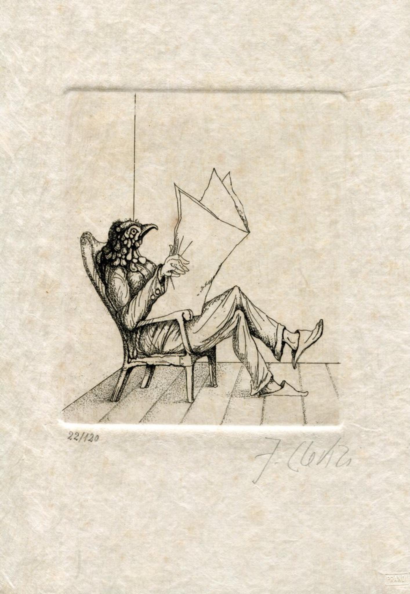 Fabrizio Clerici o i Fiori di Cenere - Rare Illustrated Book - 1976