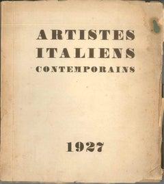 Artistes italiens contemporains - Rare Book - 1927