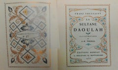 La Sultane Daoulah - Rare Illustrated Book by Franz Toussaint - 1923