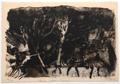 Composition - Original Lithograph by Louis Smet - 1975