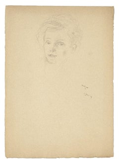 1920s Portrait Drawings and Watercolours