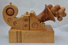 Cornucopia - Original Wooden Sculpture by Ferdinando Codognotto - 2017