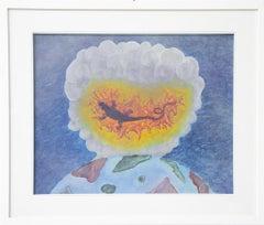 Igne Nitrum Roris Invenitur - Original Oil Paint by M. Durante  - 2020