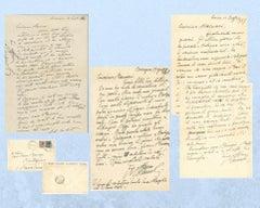 Correspondance Giorgio Morandi - Mino Maccari - Mid-20th-Century