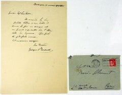 Letter from Giorgio Morandi to Countess Pecci Blunt - 1934