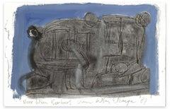 Composition - Original Drawing by Wim Berberg van Wim ELZINGA - 1987