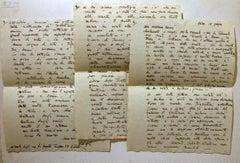 Letter by Corrado Cagli to the Countess Pecci Blunt - Mid-20th Century