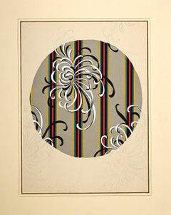 Composition 24 - Original Painting by Clément Kons - 1920s