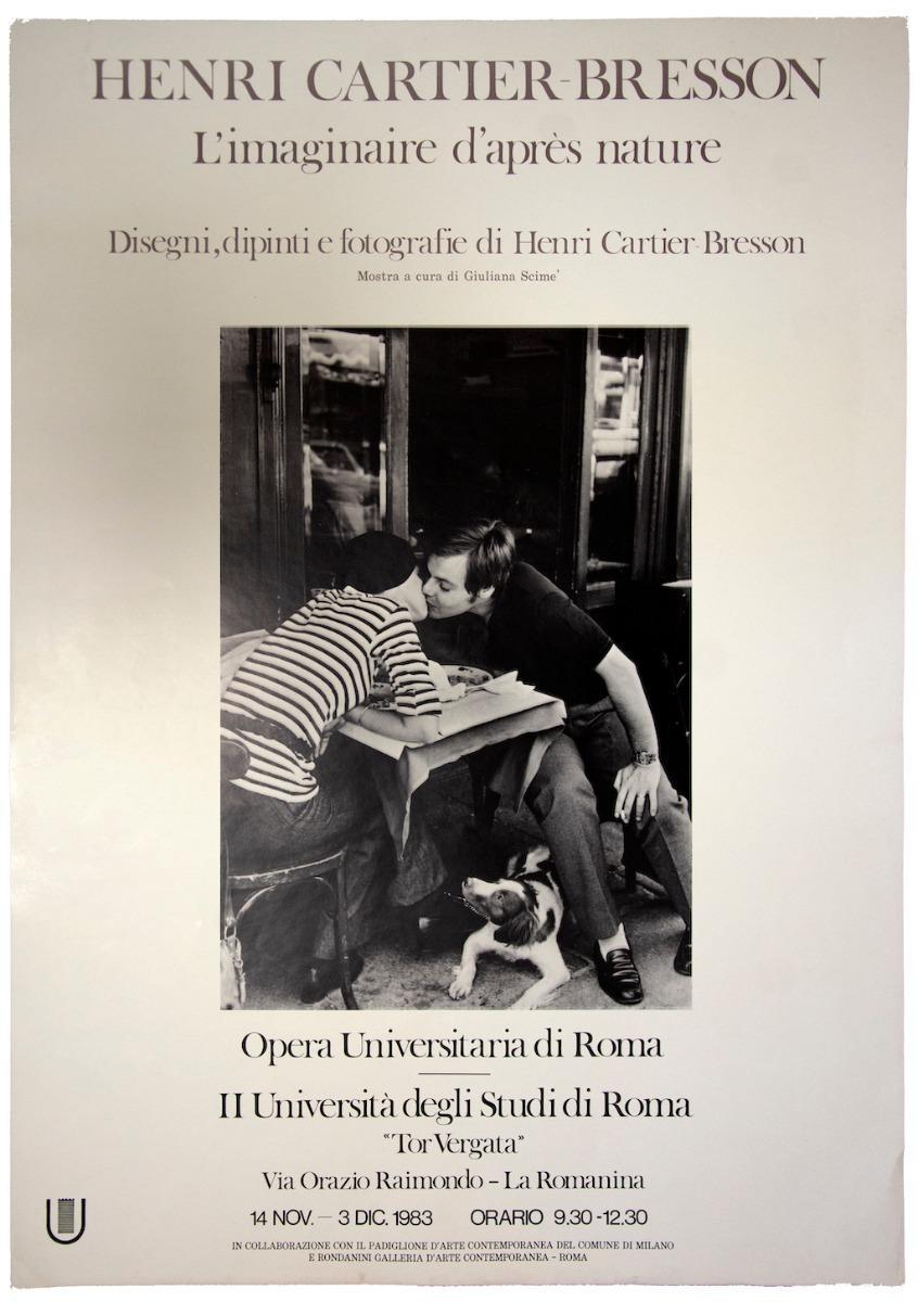 Henri Cartier Bresson - Vintage Poster - 1983
