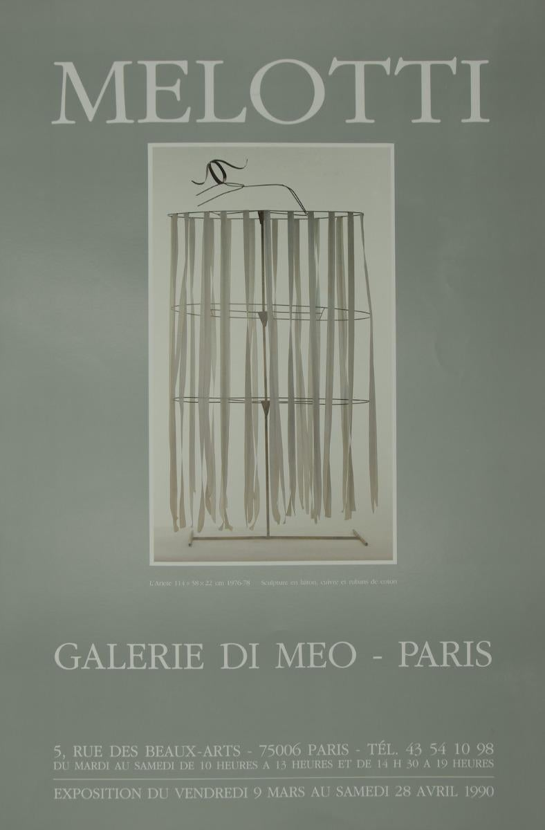 Melotti - Vintage Poster - 1990