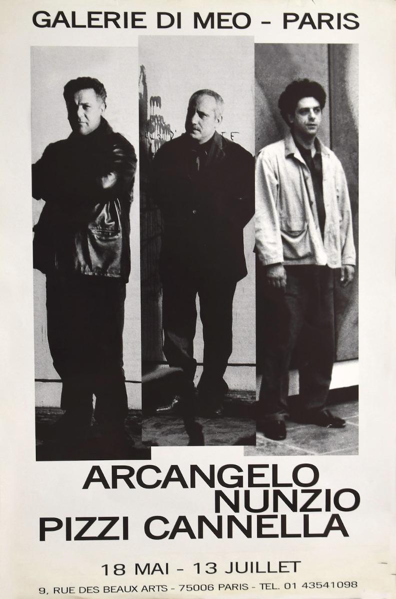 Arcangelo - Nunzio - Pizzi Cannella - Vintage Poster - Late 20th Century