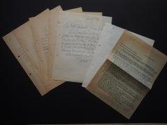 Correspondence by Léon Gischia - 1960